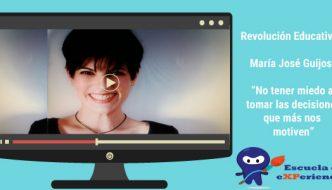 Revolución educativa entrevista Maria Jose