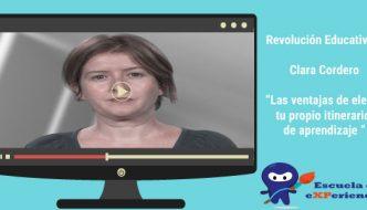 Entrevista: Clara Cordero. Ventajas de un itinerario de aprendizaje