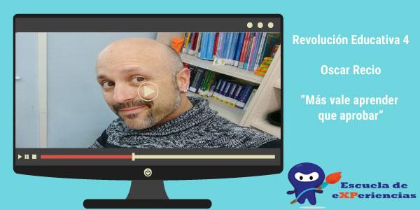 Entrevista Oscar Recio. Revolución educativa